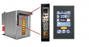 Standard control panels for Laserweld ovens